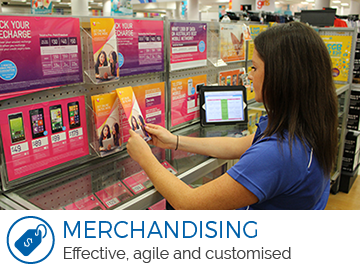 Merchandising - Effective, agail and customised